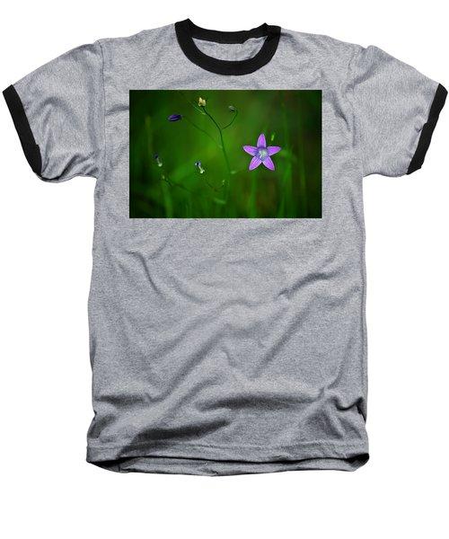 Campanula Patula Baseball T-Shirt