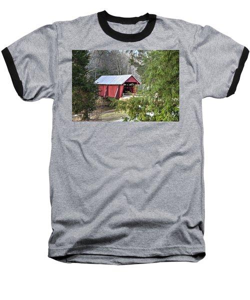 Campbell's Covered Bridge-1 Baseball T-Shirt