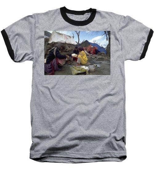 Camping In Iraq Baseball T-Shirt