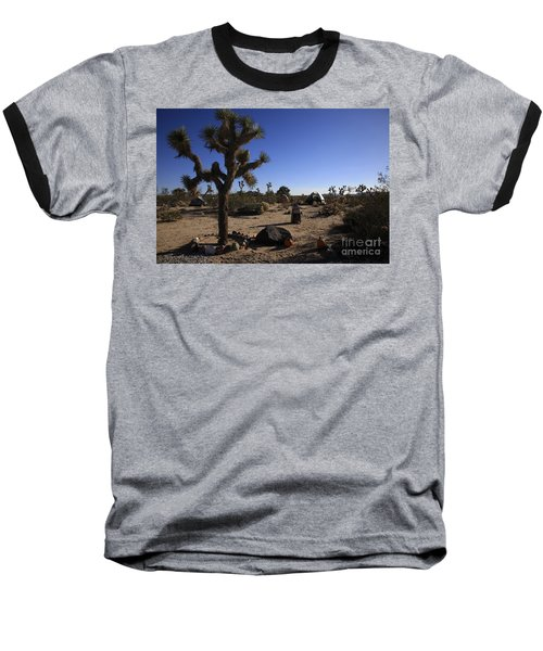Camping In The Desert Baseball T-Shirt
