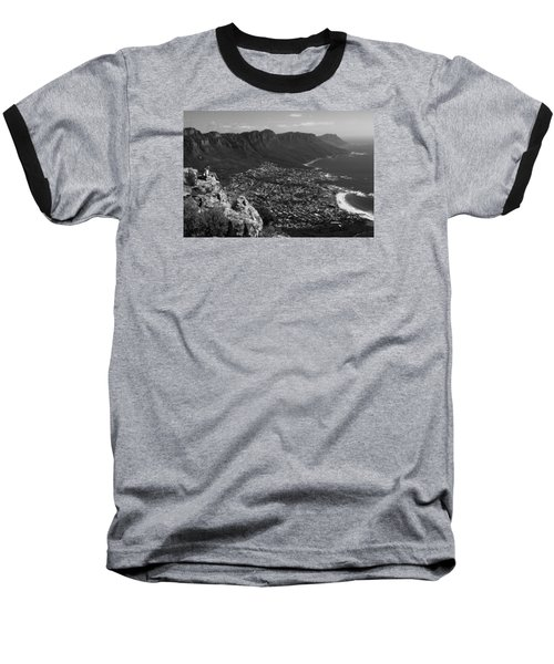 Camps Bay View Cape Town Baseball T-Shirt