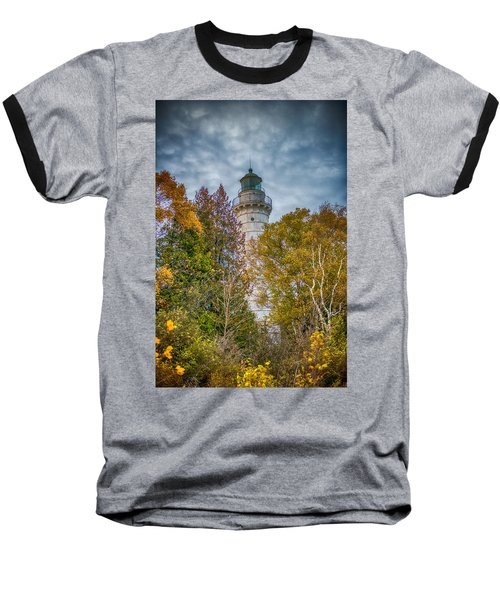 Cana Island Lighthouse II By Paul Freidlund Baseball T-Shirt