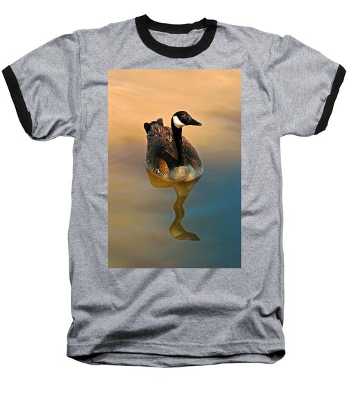 Canada Goose Baseball T-Shirt by Tam Ryan