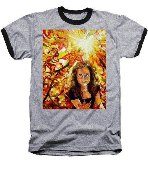 Canadian Autumn Baseball T-Shirt