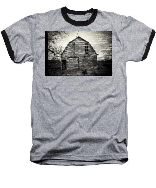 Canadian Barn Baseball T-Shirt