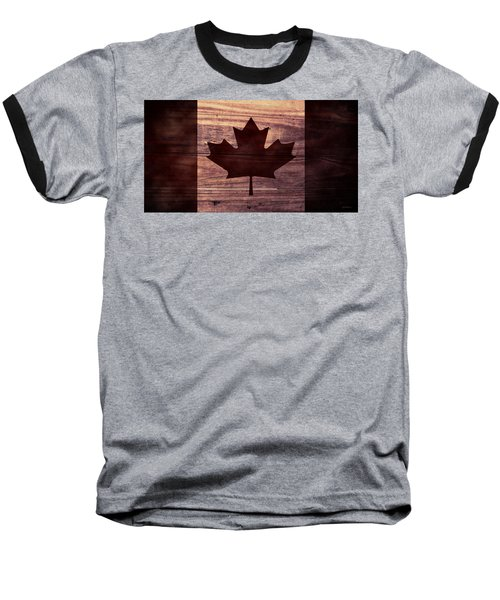 Canadian Flag I Baseball T-Shirt