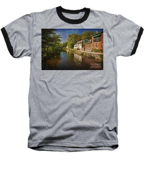 Canal Along The Porkyard Baseball T-Shirt