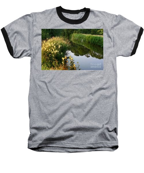 Canal Reflections Baseball T-Shirt
