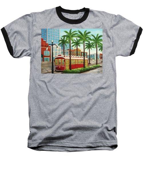 Canal Street Car Line I I Baseball T-Shirt
