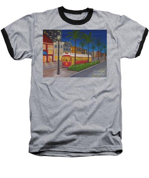 Canal Street Car Line Baseball T-Shirt