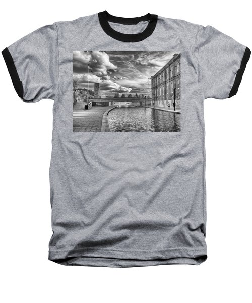 Baseball T-Shirt featuring the photograph Canal Walk by Howard Salmon