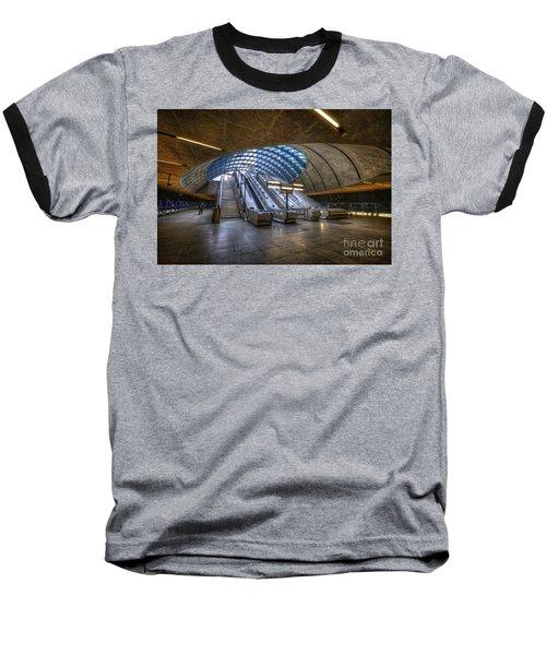 Canary Wharf 1.0 Baseball T-Shirt