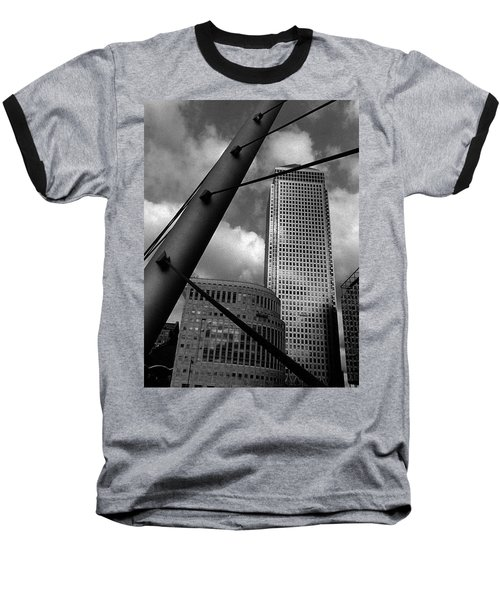 Canary Wharf London Baseball T-Shirt