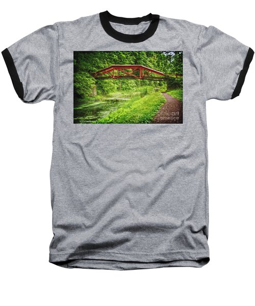 Canal Bridge Baseball T-Shirt