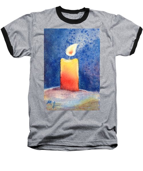Candle Glow Baseball T-Shirt