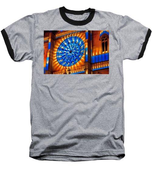 Candle Lights On Walls Baseball T-Shirt