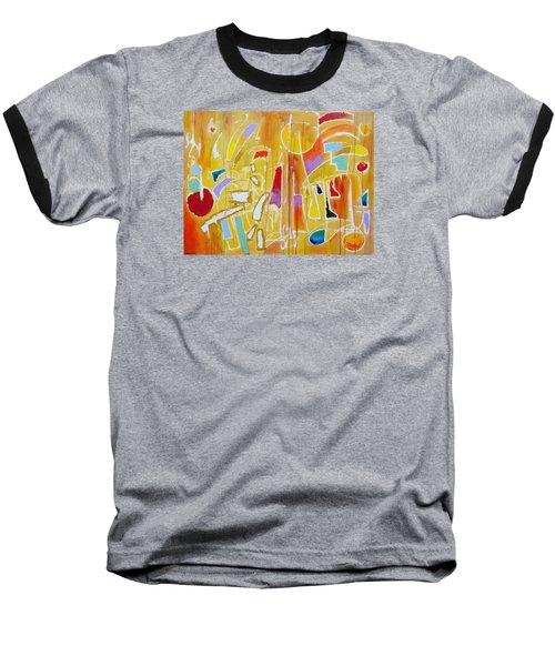 Candy Shop Garnish Baseball T-Shirt by Jason Williamson