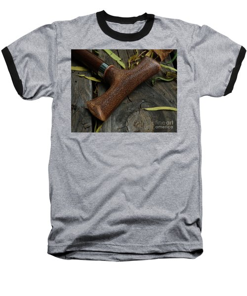 Baseball T-Shirt featuring the photograph Cane And I by Peter Piatt