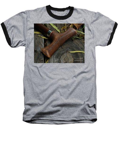 Cane And I Baseball T-Shirt by Peter Piatt