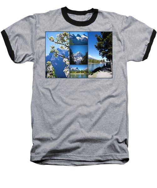 Canmore Alberta Baseball T-Shirt
