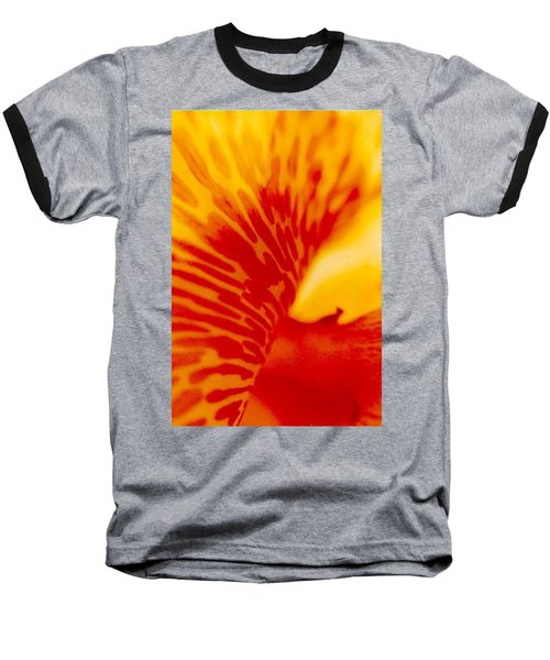 Baseball T-Shirt featuring the photograph Canna Lilly by Michael Hoard