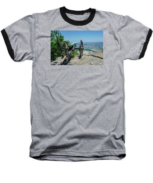 Baseball T-Shirt featuring the photograph Cannon At Point Park by Susan  McMenamin