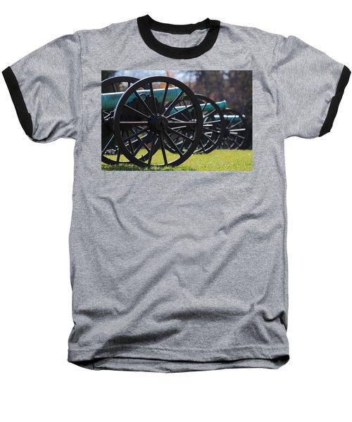 Cannons Of Manassas Battlefield Baseball T-Shirt