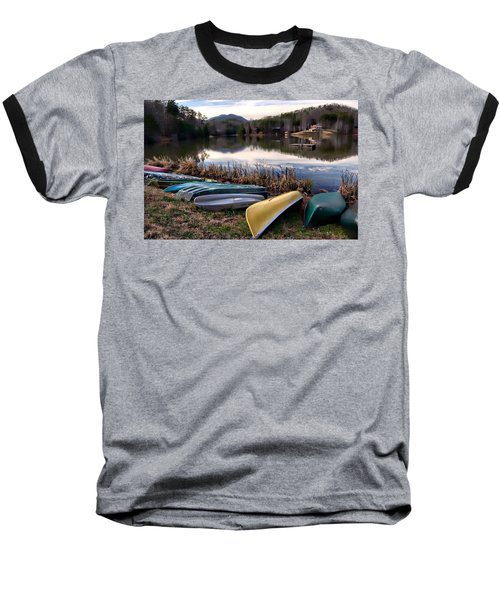 Canoes In Nc Baseball T-Shirt