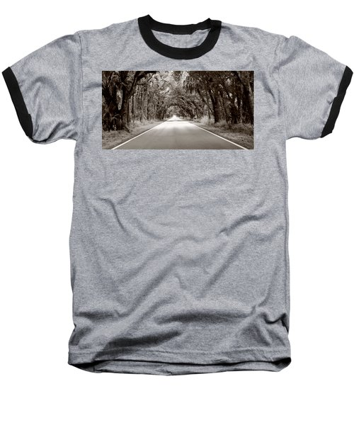 Canopy Of Trees Baseball T-Shirt by Bill Howard