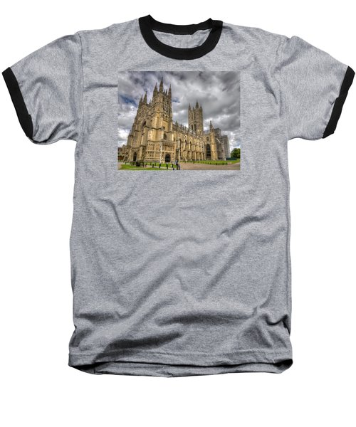 Canterbury Cathedral Baseball T-Shirt by Tim Stanley