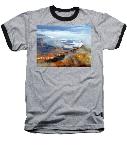 Canyon Clouds Baseball T-Shirt