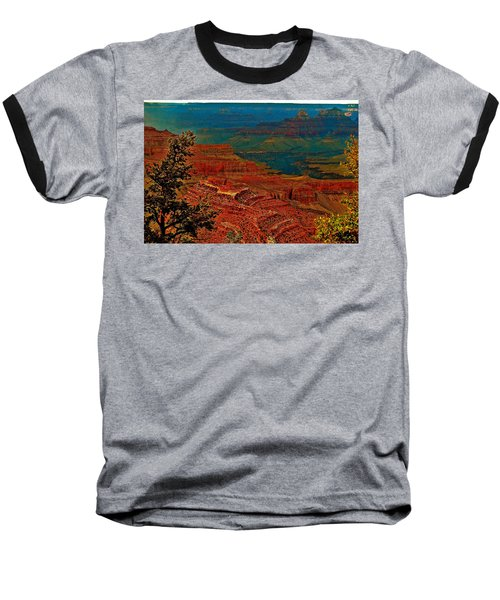 Canyon Colours Show Through Baseball T-Shirt