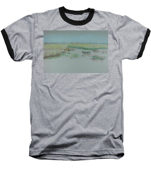 Baseball T-Shirt featuring the pastel Canyon View by Michele Myers