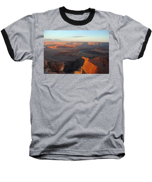 Baseball T-Shirt featuring the photograph Canyonlands Np Dead Horse Point 21 by Jeff Brunton
