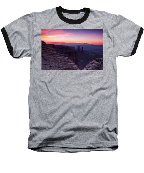 Canyonlands Sunrise Baseball T-Shirt