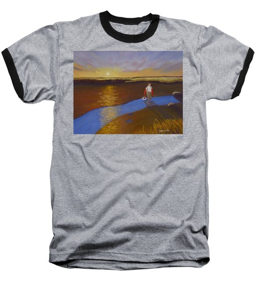 Cape Cod Clamming Baseball T-Shirt
