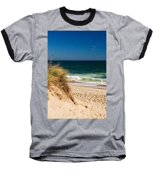 Cape Cod Massachusetts Beach Baseball T-Shirt