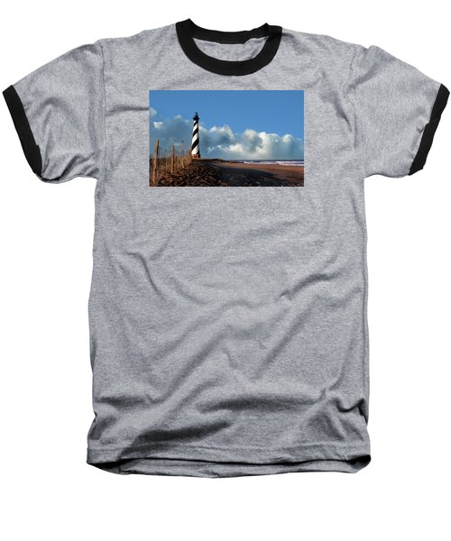 Cape Hatteras Lighthouse Nc Baseball T-Shirt