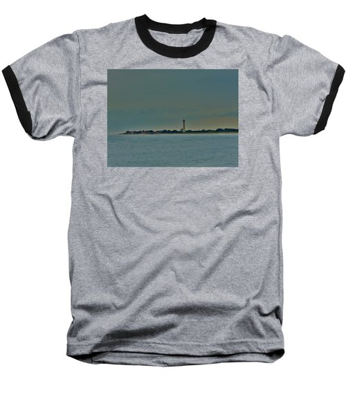 Baseball T-Shirt featuring the photograph Cape May Point by Ed Sweeney