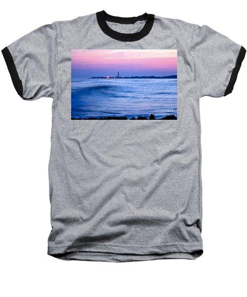Cape May Seascape Baseball T-Shirt
