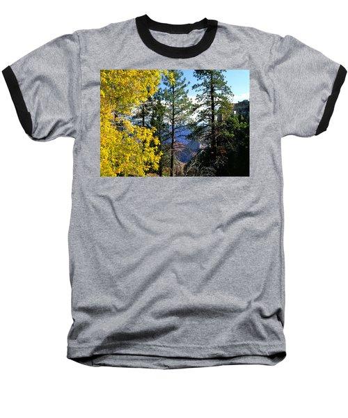 Cape Royal Grand Canyon Baseball T-Shirt by Ed  Riche