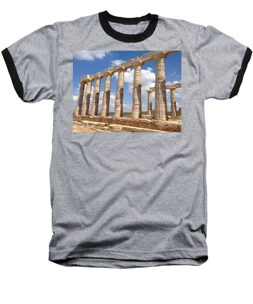 Cape Sounion Baseball T-Shirt