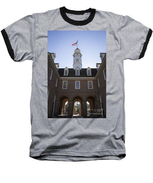 Capitol Arch Rear View Baseball T-Shirt