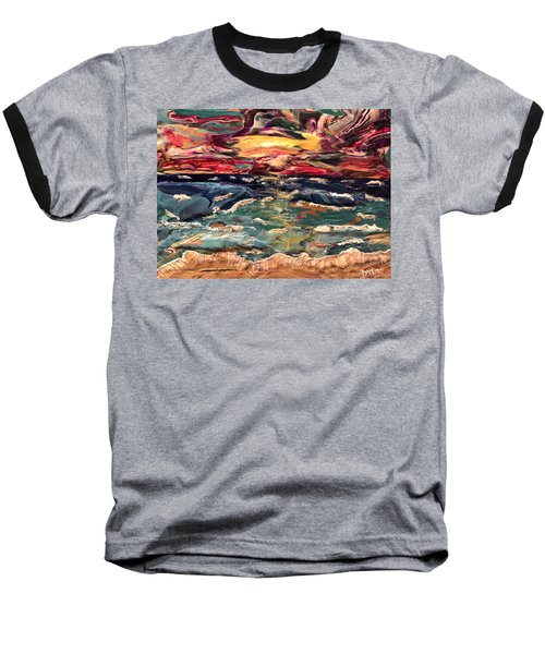 Capricious Sea Baseball T-Shirt