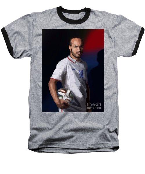 Captain America Baseball T-Shirt