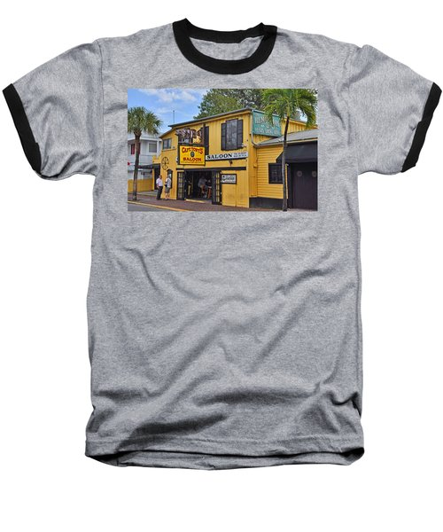 Captain Tony's Saloon Baseball T-Shirt