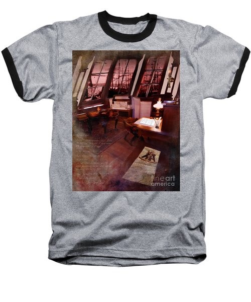 Captain's Cabin On The Dicey Baseball T-Shirt