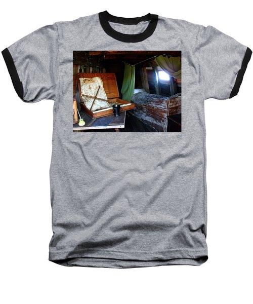 Captain's Quarters Aboard The Mayflower Baseball T-Shirt