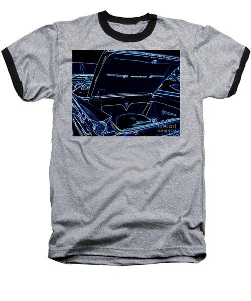Baseball T-Shirt featuring the digital art Car Blues by Bobbee Rickard