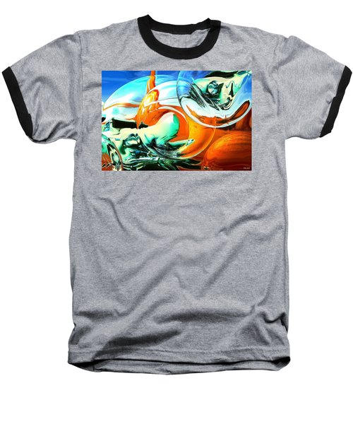 Car Fandango - Modern Art Baseball T-Shirt